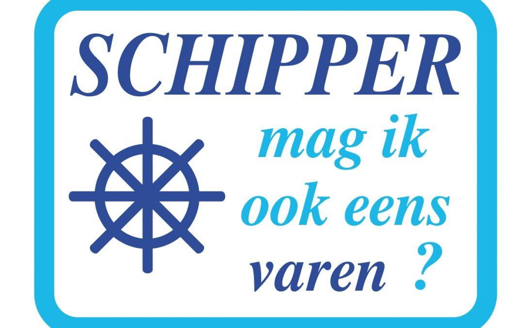 Vrijwillige schippers gezocht voor Schipper mag ik ook eens varen?