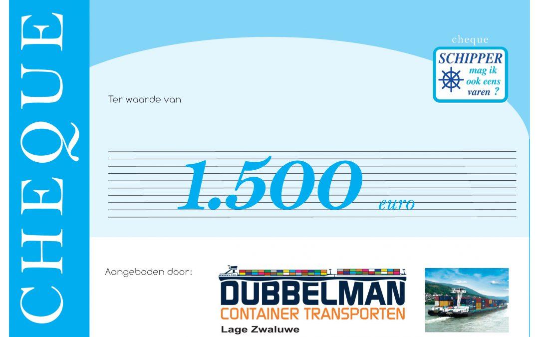 Financiële ondersteuning door Dubbeldam uit Lage Zwaluwe