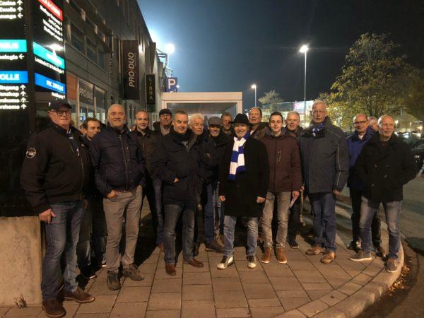 20 toegangskaarten van PEC Zwolle voor de Stichting Schipper Mag Ik Ook Eens Varen